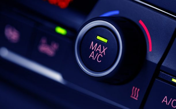 air conditioning button in car